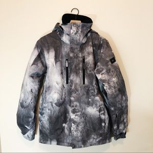 Quicksilver Mission Printed Snow Jacket Small